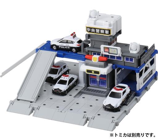 【新品】おもちゃ トミカタウン ビルドシティ 警察署