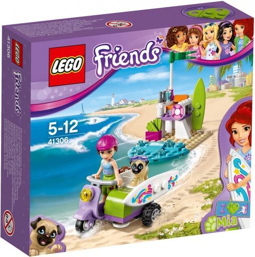 【新品】おもちゃ LEGO ミアのサーフィンタイム 「レゴ フレンズ」 41306
