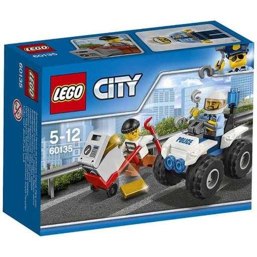 【新品】おもちゃ LEGO ドロボウとポリス4WDバギー 「レゴ シティ」 60135