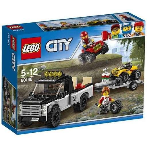 【新品】おもちゃ LEGO 四輪バギーとトレーラー 「レゴ シティ」 60148