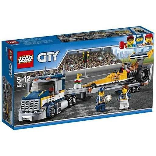 【新品】おもちゃ LEGO 超高速レースカーとトレーラー 「レゴ シティ」 60151