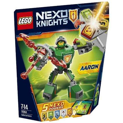 【新品】おもちゃ LEGO バトルスーツ アーロン 「レゴ ネックスナイツ」 70364