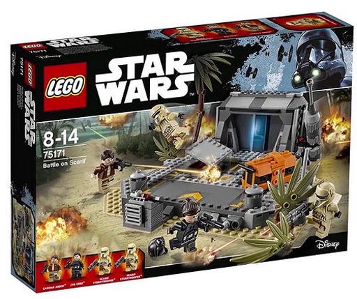 【新品】おもちゃ LEGO スカリフの戦い 「レゴ スター・ウォーズ」 75171