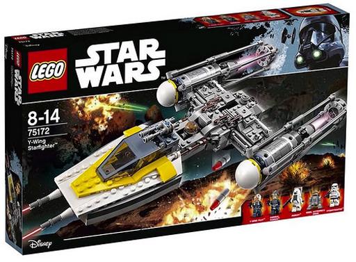 【中古】おもちゃ LEGO Yウィング・スターファイター 「レゴ スター・ウォーズ」 75172