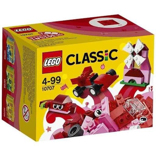 【新品】おもちゃ LEGO アイデアパーツ<赤> 「レゴ クラシック」 10707