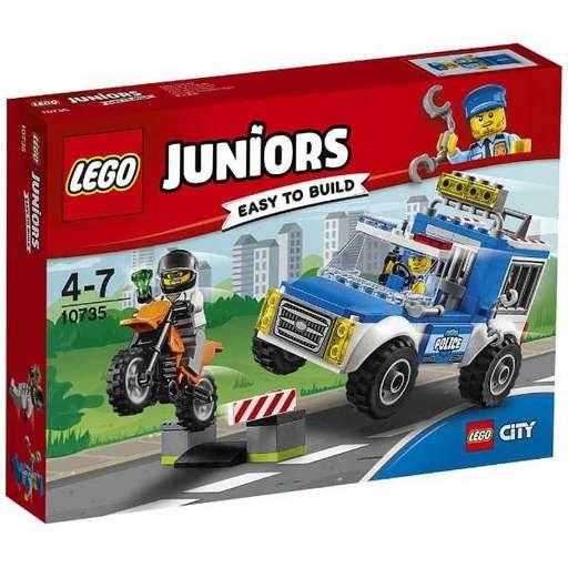 【新品】おもちゃ LEGO シティ ポリストラックの追跡 「レゴ ジュニア」 10735