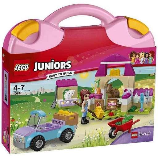 【新品】おもちゃ LEGO フレンズ ミアの牧場セット 「レゴ ジュニア」 10746