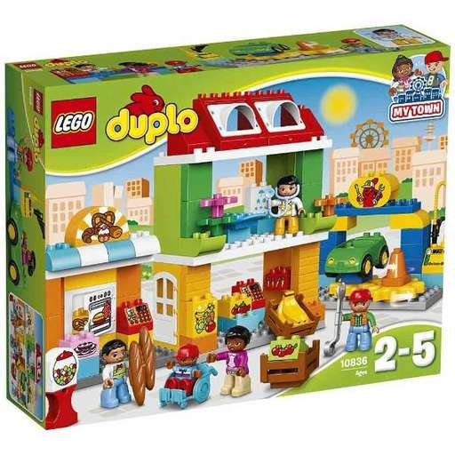 【新品】おもちゃ LEGO デュプロのまち みんなのまち 「レゴ デュプロ」 10836