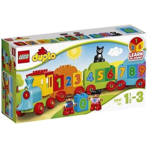 【中古】おもちゃ LEGO はじめてのデュプロ かずあそびトレイン 「レゴ デュプロ」 10847