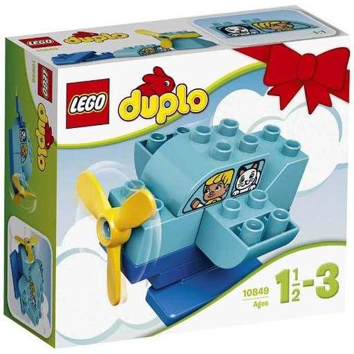 【新品】おもちゃ LEGO はじめてのデュプロ ひこうき 「レゴ デュプロ」 10849