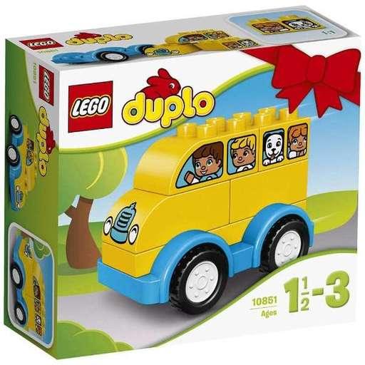 【新品】おもちゃ LEGO はじめてのデュプロ バス 「レゴ デュプロ」 10851
