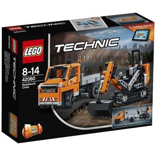 【新品】おもちゃ LEGO 道路工事トラック & ショベルカー 「レゴ テクニック」 42060