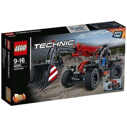 【新品】おもちゃ LEGO テレハンドラー 「レゴ テクニック」 42061