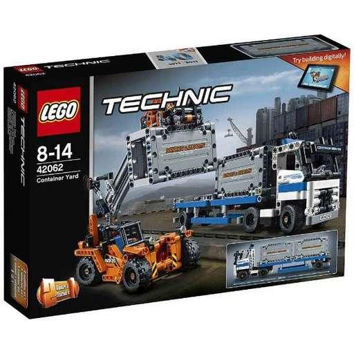 【新品】おもちゃ LEGO コンテナトラック & ローダー 「レゴ テクニック」 42062