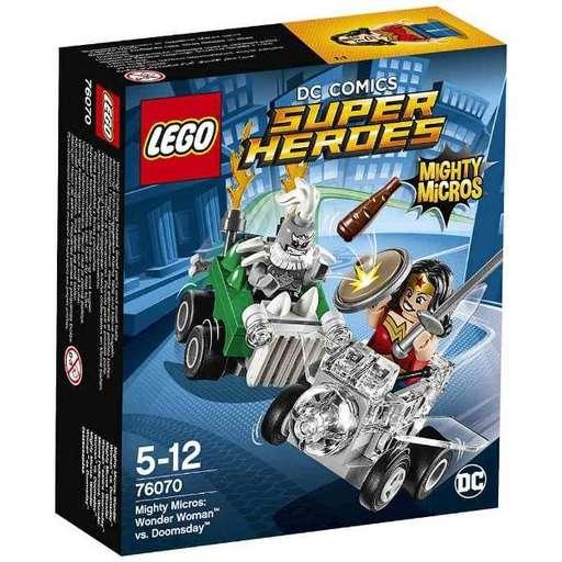 【新品】おもちゃ LEGO マイティマイクロ:ワンダーウーマン vs ドゥームズデイ 「レゴ スーパー・ヒーローズ」 76070
