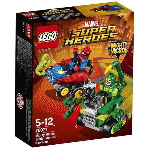 【新品】おもちゃ LEGO マイティマイクロ:スパイダーマン vs スコーピオン 「レゴ スーパー・ヒーローズ」 70671