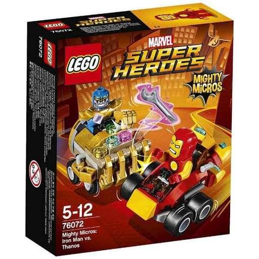 【新品】おもちゃ LEGO マイティマイクロ:アイアンマン vs サノス 「レゴ スーパー・ヒーローズ」 76072