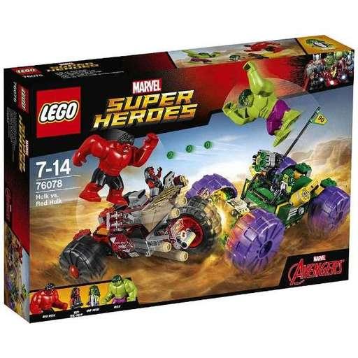 【新品】おもちゃ LEGO ハルク vs レッドハルク 「レゴ スーパー・ヒーローズ」 76078
