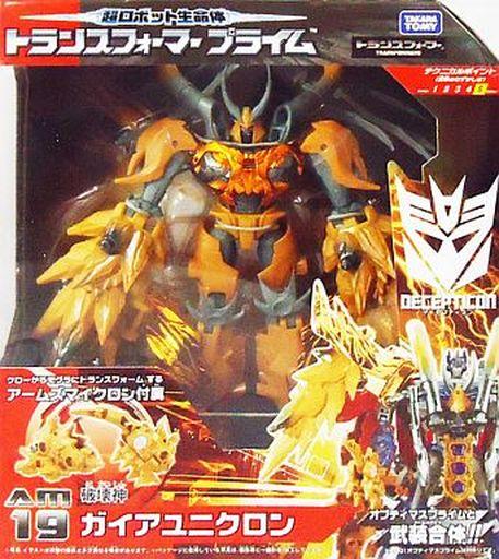 【中古】おもちゃ [ランクB] AM-19 ガイアユニクロン 「超ロボット生命体 トランスフォーマー プライム」