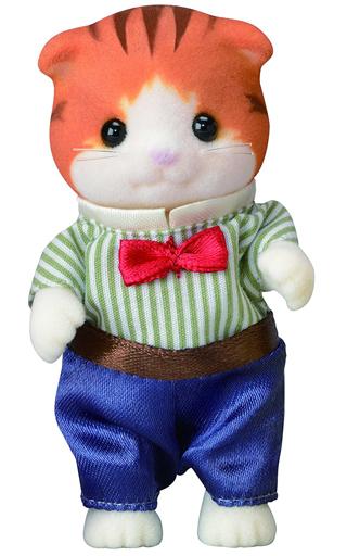 【中古】おもちゃ メイプルネコのお父さん 「シルバニアファミリー」