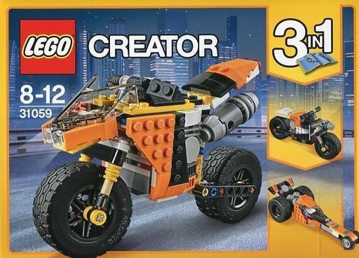 【中古】おもちゃ LEGO ストリートバイク 「レゴ クリエイター」 31059