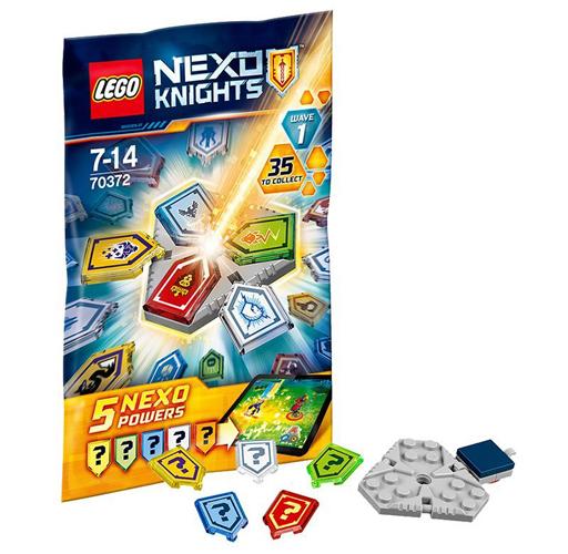 【中古】おもちゃ 【 パック 】LEGO コンボネックスパワーパック シリーズ1 「レゴ ネックスナイツ」 70372