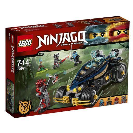 【中古】おもちゃ LEGO ダブルランチャーメカバギー 「レゴ ニンジャゴー」 70625