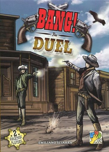 【中古】ボードゲーム [日本語訳無し] バン! デュエル (Bang! The Duel )