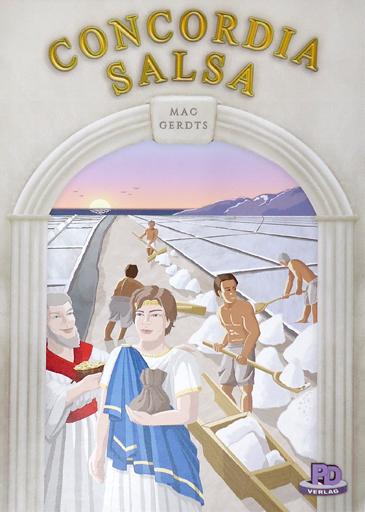 【中古】ボードゲーム [日本語訳無し] コンコルディア・サルサ (Concordia :Salsa)
