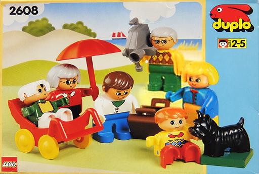 【中古】おもちゃ [ランクB] LEGO ファミリー 「レゴ デュプロ」 2608