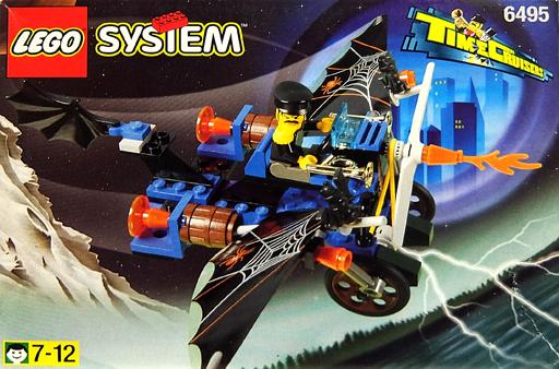 【中古】おもちゃ LEGO タイムクルーザーズ クレイジーゴーストプレーン 「レゴ システム」 6495