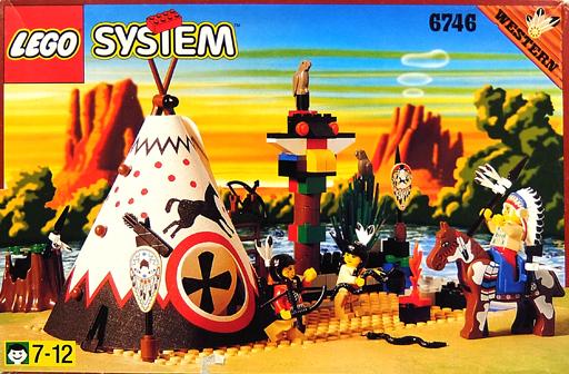 【中古】おもちゃ [ランクB] LEGO ウェスタン イーグルキャンプ 「レゴ システム」 6746