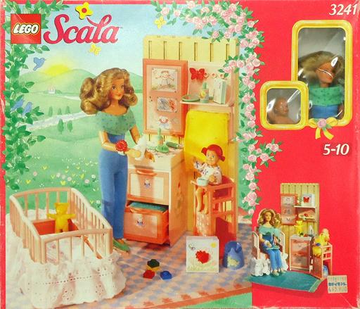 【中古】おもちゃ [ランクB] LEGO 子育てセット「レゴ Scala」 3241