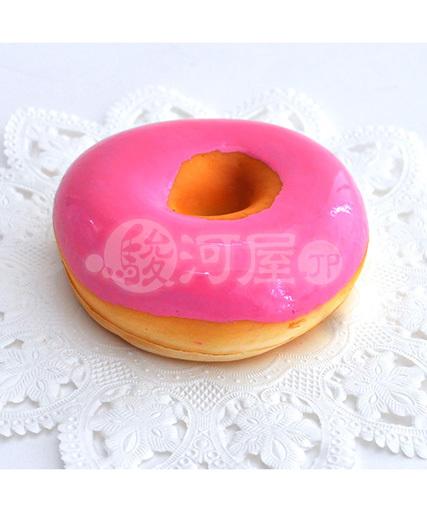 【新品】スクイーズ(食品系/おもちゃ) 野いちご 柔らかクランベリードーナツ マザーガーデン