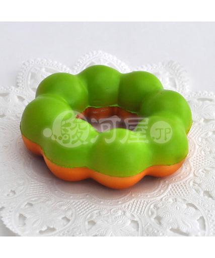 マザーガーデン 新品 スクイーズ(食品系/おもちゃ) 野いちご 柔らかもちもちドーナツ 抹茶 マザーガーデン