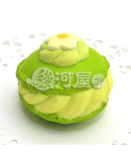 【新品】スクイーズ(食品系/おもちゃ) 野いちご 柔らかマカロン メロン マザーガーデン