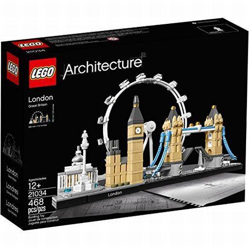 【新品】おもちゃ LEGO ロンドン 「レゴ アーキテクチャー」 21034