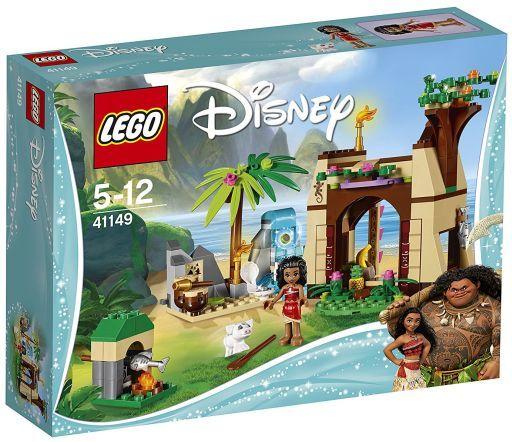 """【中古】おもちゃ LEGO モアナ """"南の島のひみつ"""" 「レゴ ディズニープリンセス」 41149"""