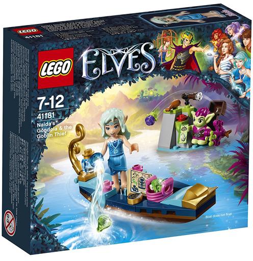 【中古】おもちゃ LEGO ナイーダのゴンドラ 「レゴ エルフ」 41181