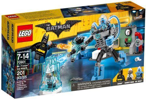 【中古】おもちゃ LEGO ミスター・フリーズのアイス・アタック 「レゴ バットマン」 70901