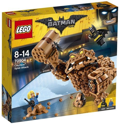 【中古】おもちゃ LEGO クレイフェイスのスプラット・アタック 「レゴ バットマン」 70904
