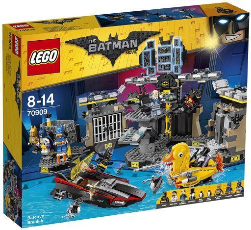 【中古】おもちゃ LEGO バットケイブへの侵入 「レゴ バットマン」 70909