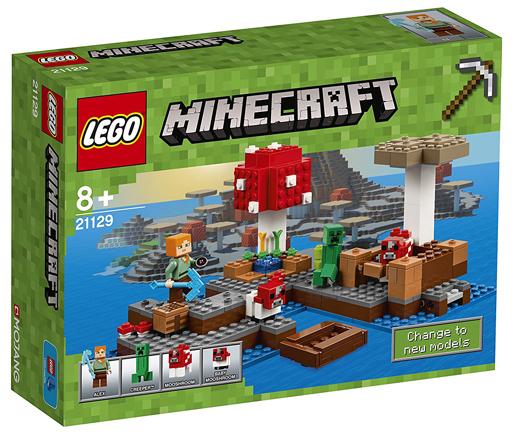 【新品】おもちゃ LEGO きのこの島 「レゴ マインクラフト」 21129