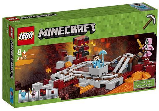 【新品】おもちゃ LEGO 暗黒界の線路 「レゴ マインクラフト」 21130