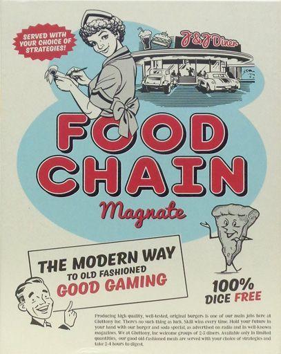 【中古】ボードゲーム [日本語訳無し] フードチェーン・マグネイト (Food Chain Magnate)