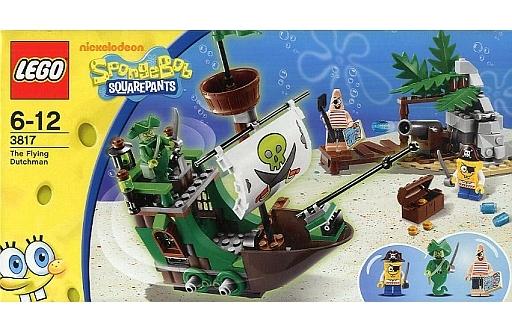 【中古】おもちゃ LEGO The Flying Dutchman 「レゴ スポンジ・ボブ」 3817