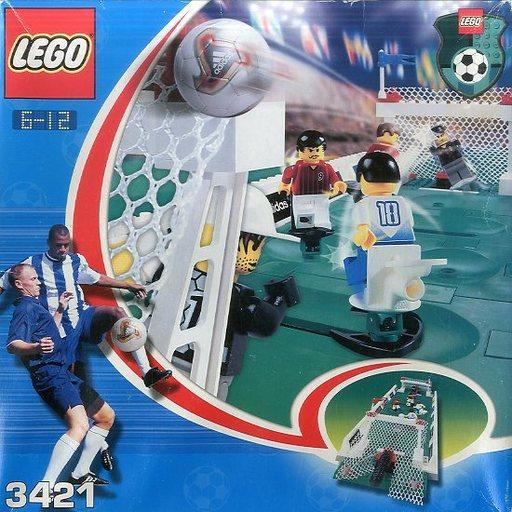 【中古】おもちゃ [ランクB] LEGO 3V3 シュートアウト 「レゴ サッカー」 3421