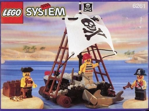 【中古】おもちゃ LEGO Raft Raiders -ラフト ライダーズ- 「レゴ パイレーツ」 6261