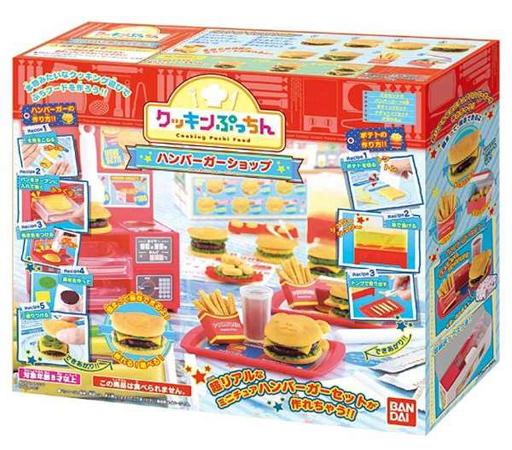 【新品】おもちゃ クッキンぷっちん ハンバーガーショップ