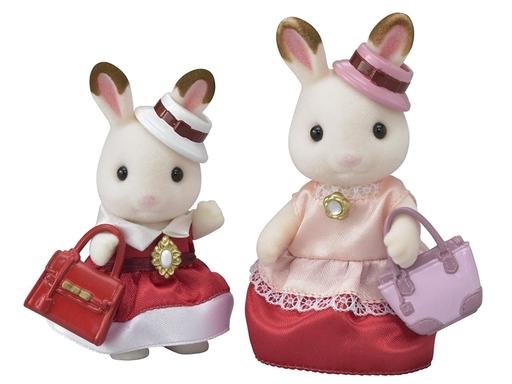 【新品】おもちゃ 街のおしゃれペアセット 「シルバニアファミリー」 タウンシリーズ